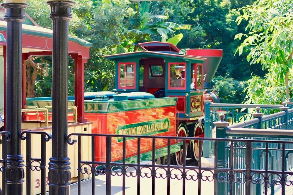 Roy O Disney, Hong Kong Disneyland Railroad, Hong Kong, Hong Kong Disneyland, Hong Kong Disney, Disneyland, Disney,