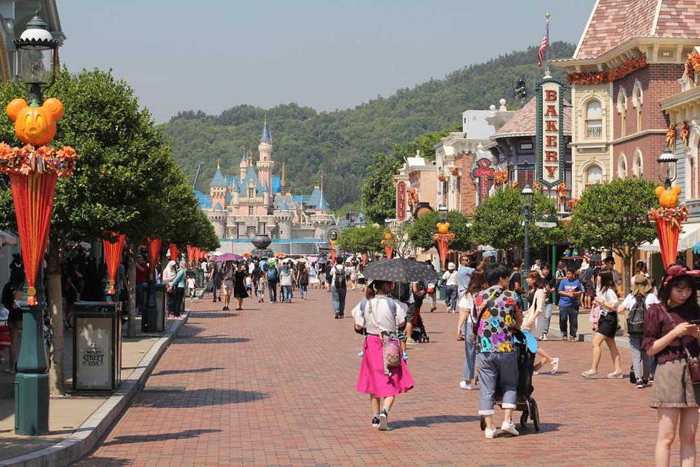 Hong Kong Disneyland,Hong Kong Disney,Disney Hong Kong,Disneyland Main Street
