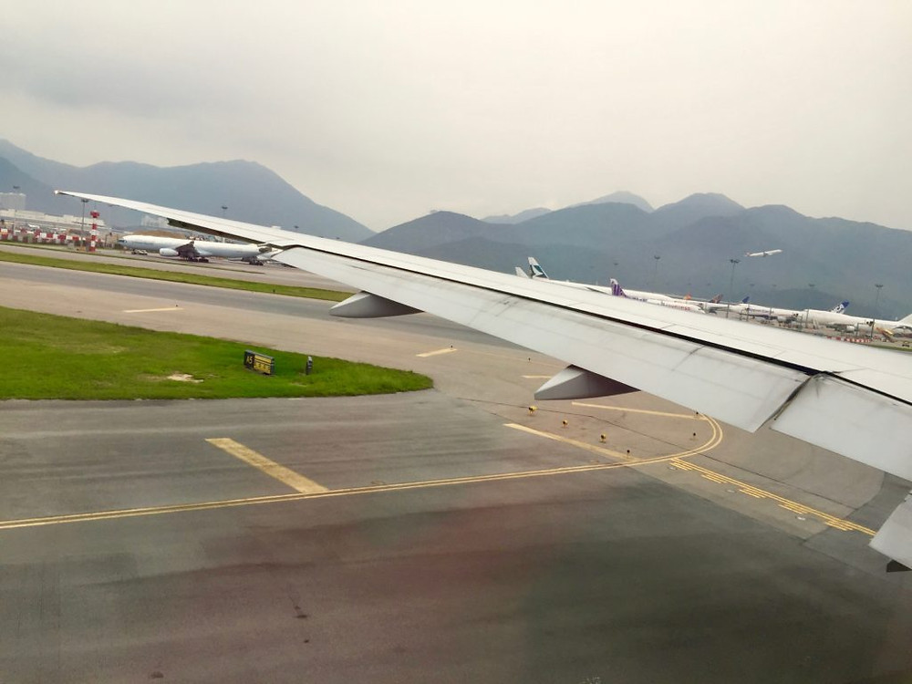 Hong Kong Int'l Airport, Hong Kong, China