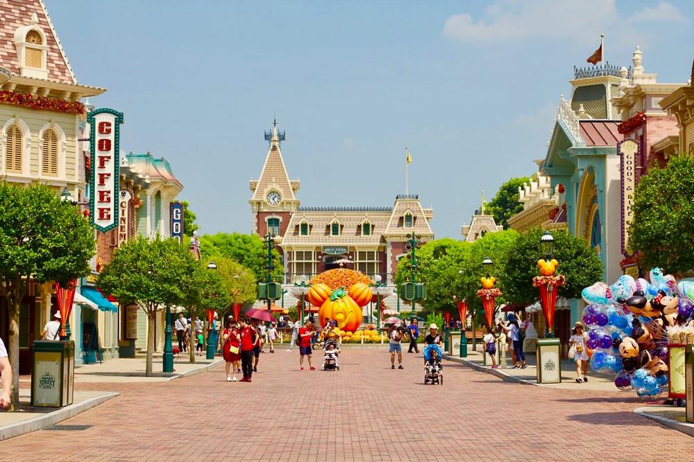Hong Kong Disneyland Main Street, Hong Kong Disney, Hong Kong