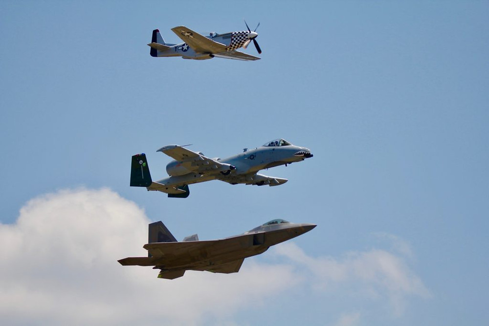 f-22 Raptor Demo Team, F-22 Raptor, F-22, Seymour Johnson AFB NC, SJAFB NC Airshow, NC Airshow