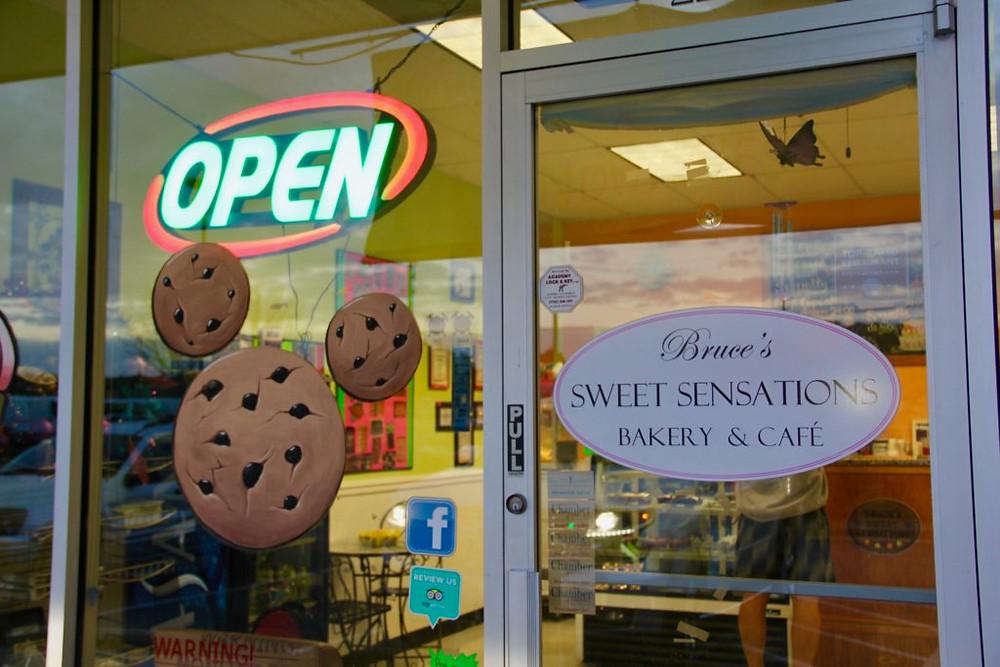Bruce's Sweet Sensations Bakery & Cafe, gluten free bakery monroe, gf bakery monroe, gf bakery georgia,