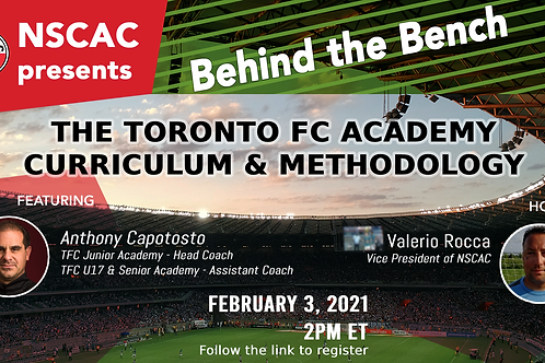 Behind the Bench, Episode 16: The TFC Academy Curriculum & Methodology