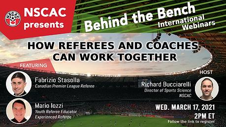 NSCAC - Richard, Fabrizio, Mario Behind