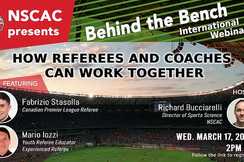 Behind The Bench, Episode 21: How Referees and Coaches Can Work Together
