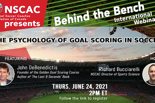 Behind the Bench, Episode 39: The Psychology of Goal Scoring in Soccer