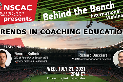 Behind the Bench, Episode 42: Trends in Coaching Education