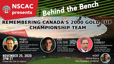 NSCAC - Canada's 2000 Gold Cup Team Behi