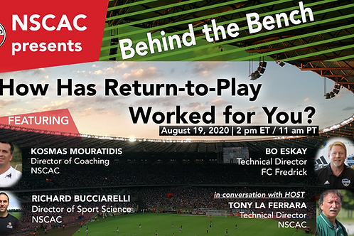 Behind the Bench, Episode 6:  How Has Return-to-Play Worked for You?
