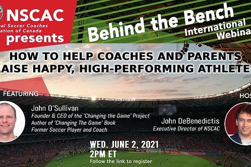 Behind the Bench, Episode 34: How to Help Raise Happy, High-Performing Athletes