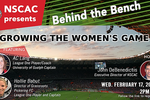 Behind the Bench, Episode 18: Growing The Women's Game