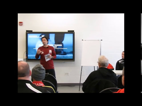 "2019 NSCAC Convention: ""Soccer-Specific Training Methodology"" (Part 1)"