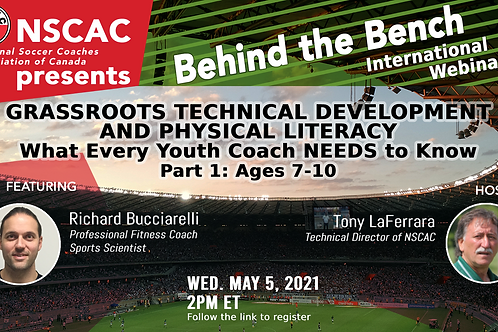 Behind the Bench, Episode 30: Grassroots Technical Dev. & Physical Literacy