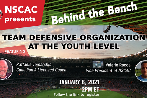 Behind the Bench, Episode 12: Team Defensive Organization at the Youth Level