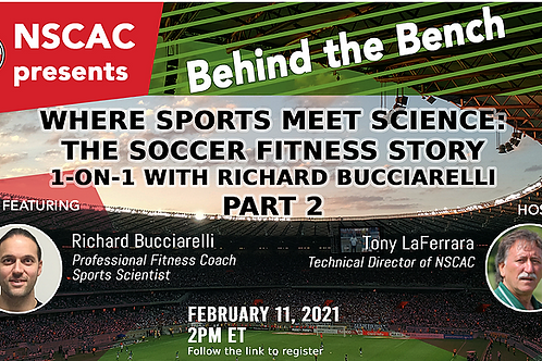 Behind the Bench, Episode 17: Where Sports Meets Science: PART 2