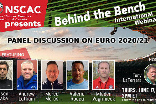 Behind the Bench, Episode 38: Panel Discussion on EURO 2021