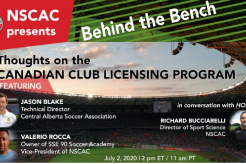 Behind the Bench, Episode 5:  Thoughts on the Canadian Club Licensing Program