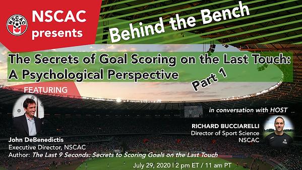 2020 07 29 NSCAC - BtheB Goal Scoring Ps