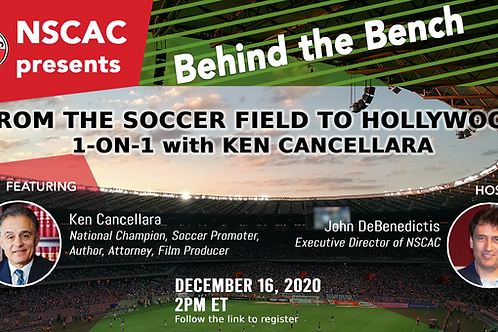 Behind the Bench, Episode 11: From the Soccer Field to Hollywood