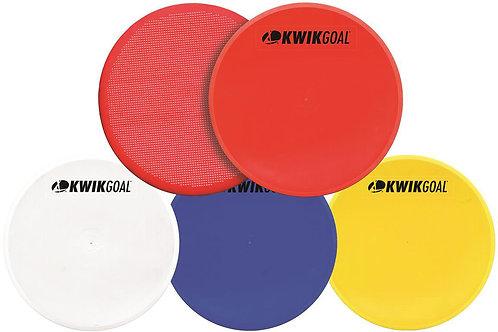 Kwik Goal Flat Round Markers