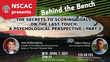 NSCAC - Rocca & DeBenedictis PART 2, APR