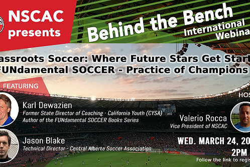 Behind The Bench, Episode 30: Grassroots Soccer & FUNdamental SOCCER