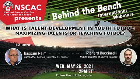 NSCAC - Bassam & Richard. Behind The Ben