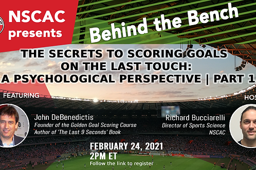 Secrets To Scoring Goals Webinar - Part One