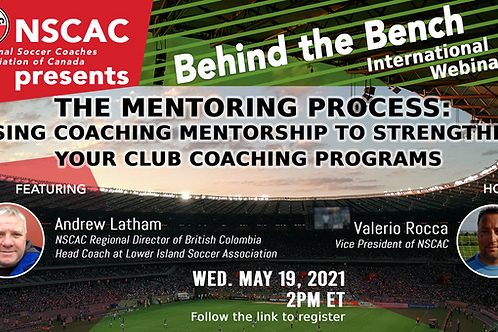 Behind the Bench, Episode 31: The Mentoring Process