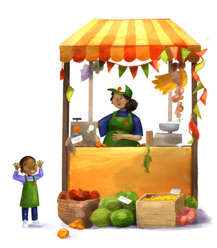 Fruit Stand - Nutrition