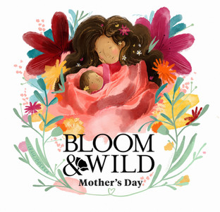 Bloom & Wild Mother's Day Illustration