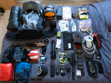 Gear List for the Kungsleden