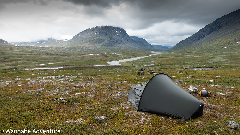 The Hilleberg Enan in the valley
