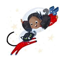 Lucy & KItten / Kitten on the Loose