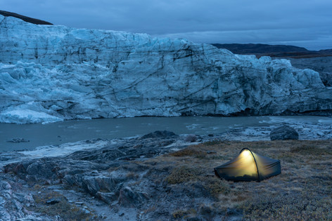 3am at Russell Glacier Greenland
