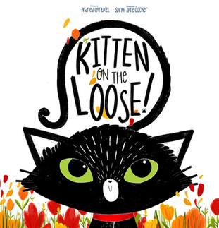 Kitten on the Loose Cover
