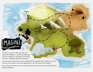 Imagine Compassion Be Ready Explorers Map