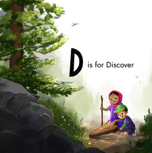 A-Z Book - D for Discover