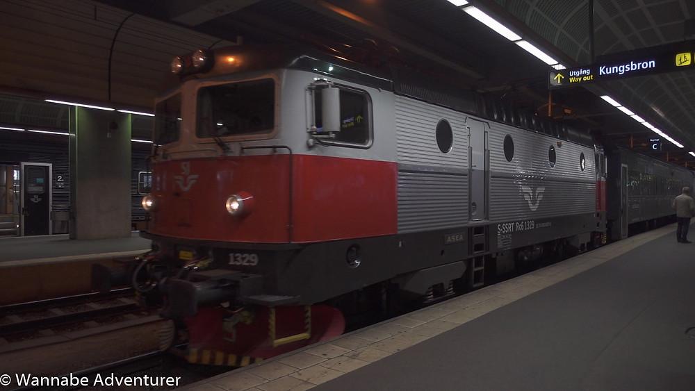 SJ Arctic Circle Night train