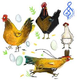 Cowboy Chickens