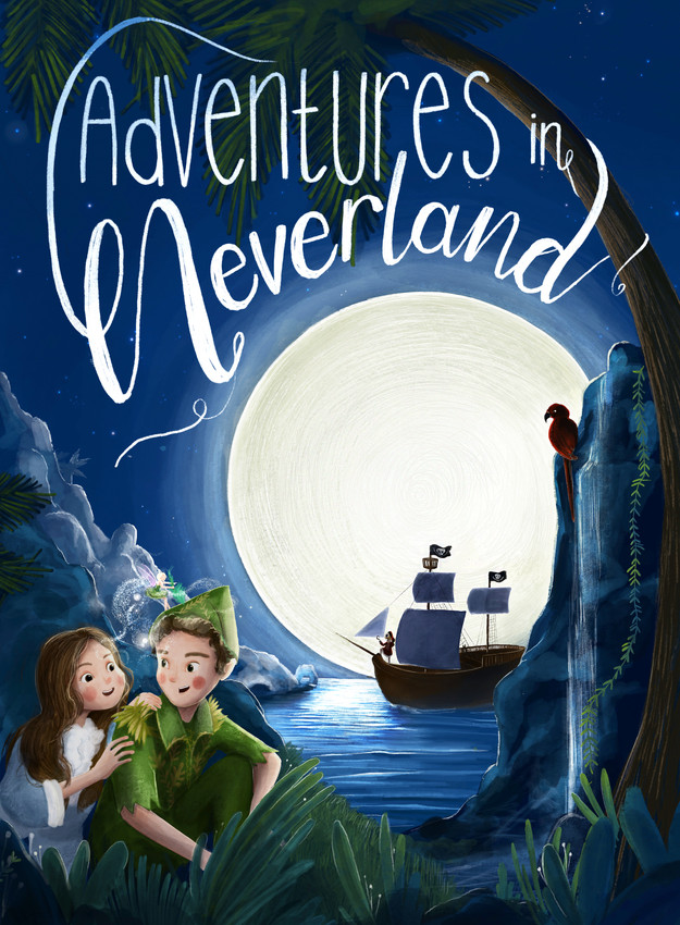 Adventures in Neverland Theatre Poster