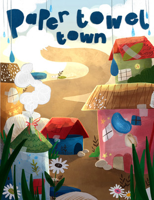 Paper Towel Town Editorial