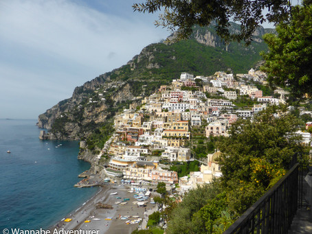 A Walk Along The Amalfi Coast, Italy