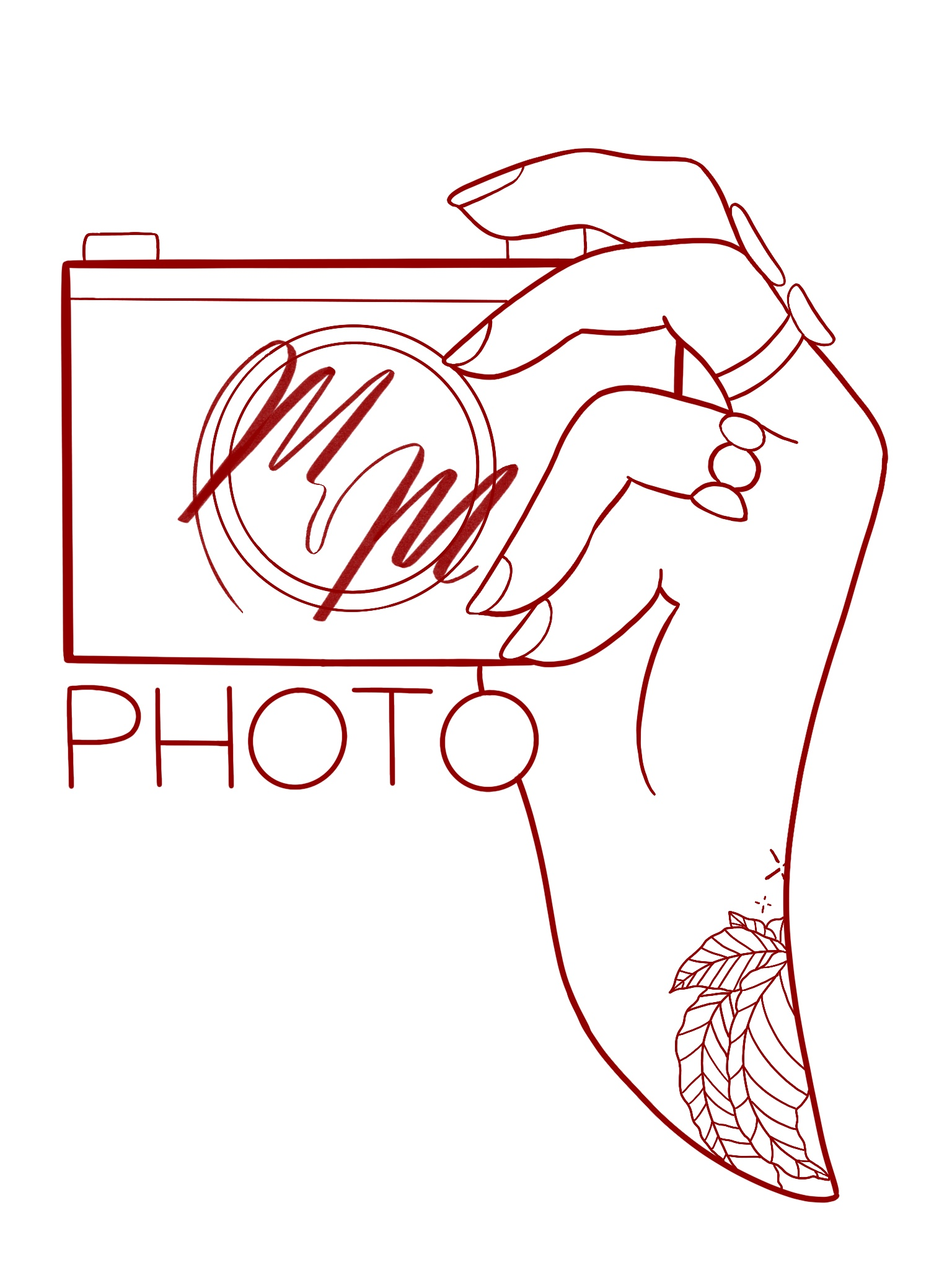 Meg Morris Photo Logo Vector