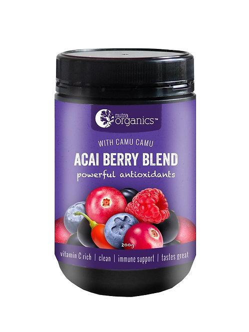 Nutra Organics Acai Berry Blend (200g)
