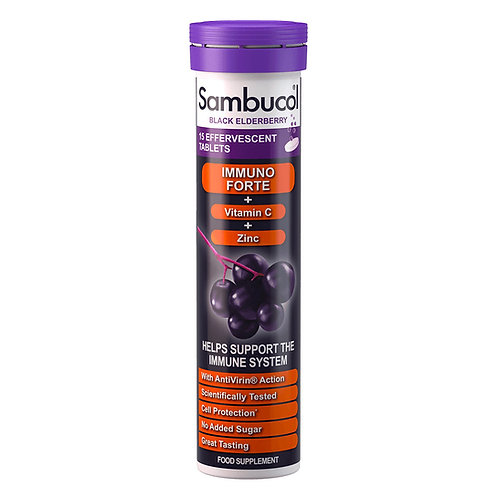 Sambucol Effervescent Tablets (15 Tablets)