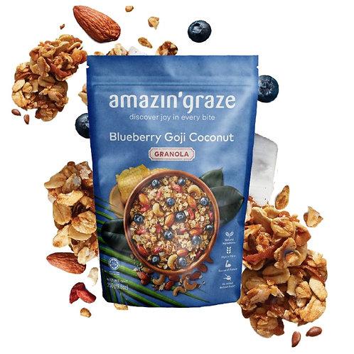 Amazin Graze Blueberry Goji Coconut (250g)