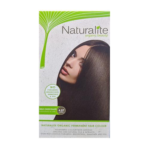 Naturalite Organic Permanent Hair Colour 4.07 (Milk Chocolate)