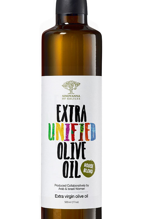 Sindyanna of Galilee Extra Virgin Olive Oil (Unified- House Blend)-500ml