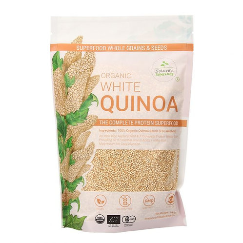 Nature's Superfoods Organic White Quinoa
